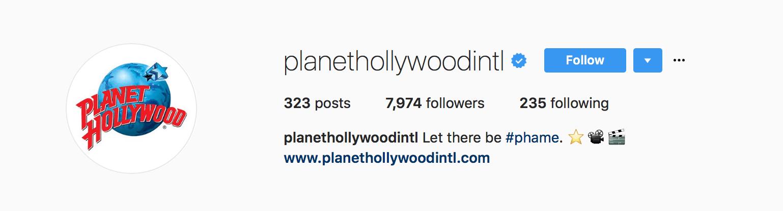 Branded Hashtangon Instagram