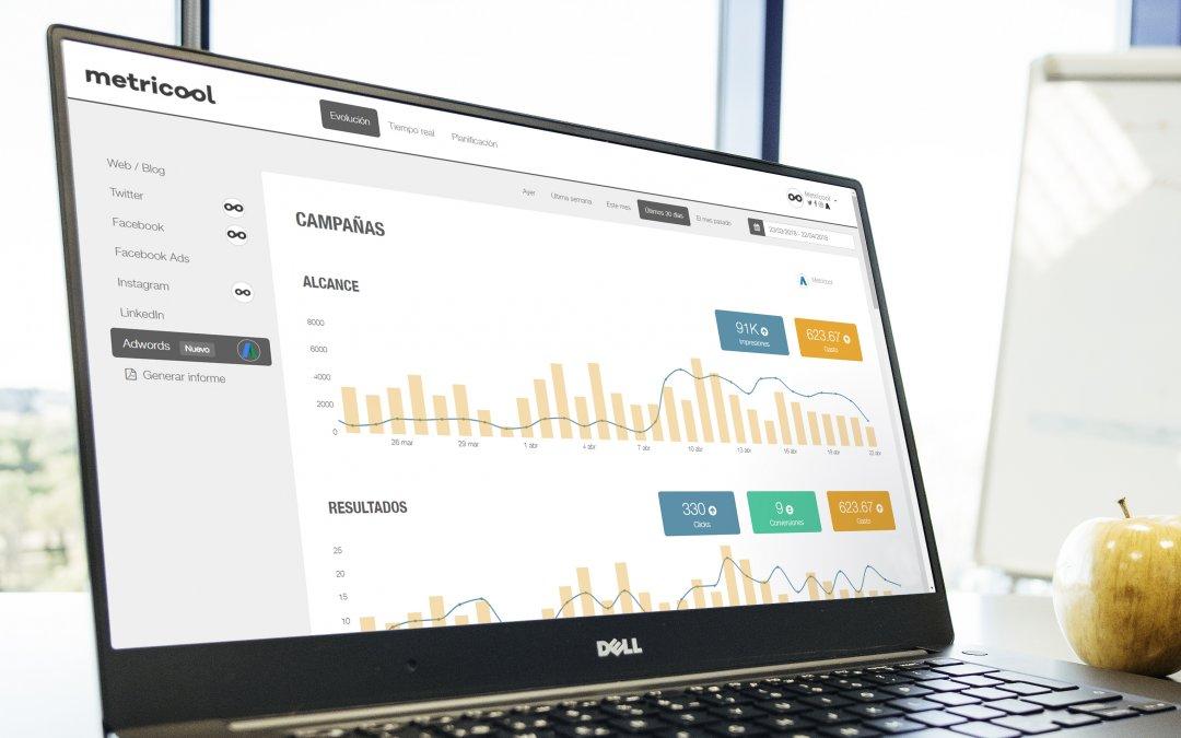 Métricas Google Ads con Metricool: los datos de tus anuncios en un mismo lugar