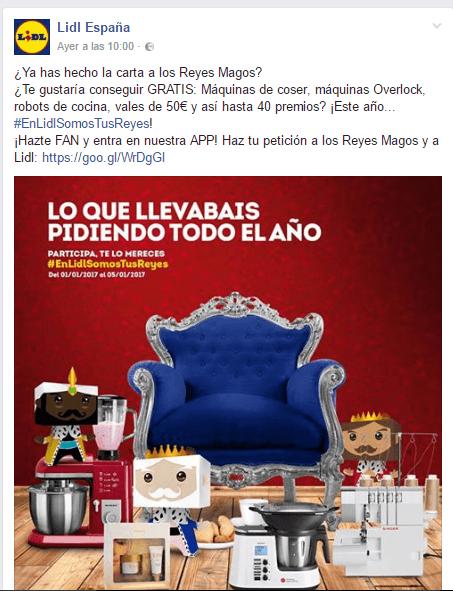 plantilla sorteo en Facebook