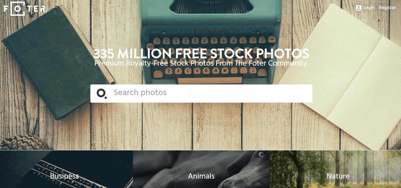 banco de imagenes foter gratis