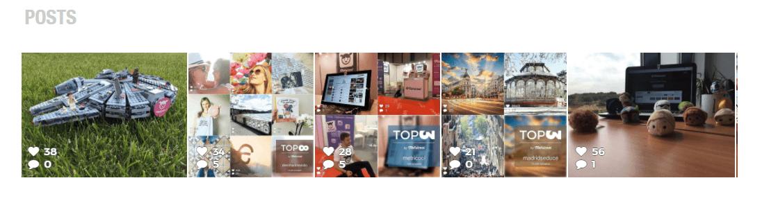 Instagram Statistics: Posts