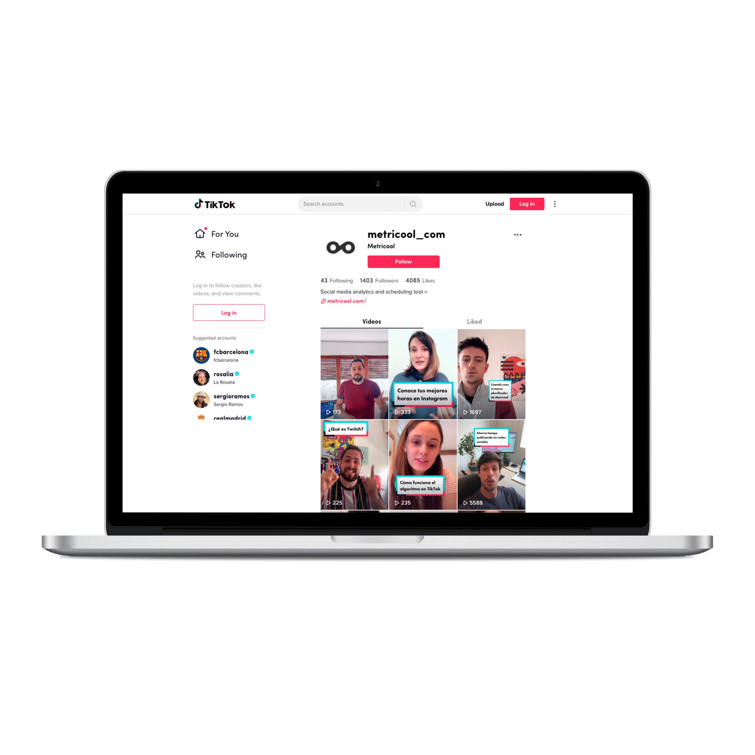 cómo crear una cuenta en TikTok