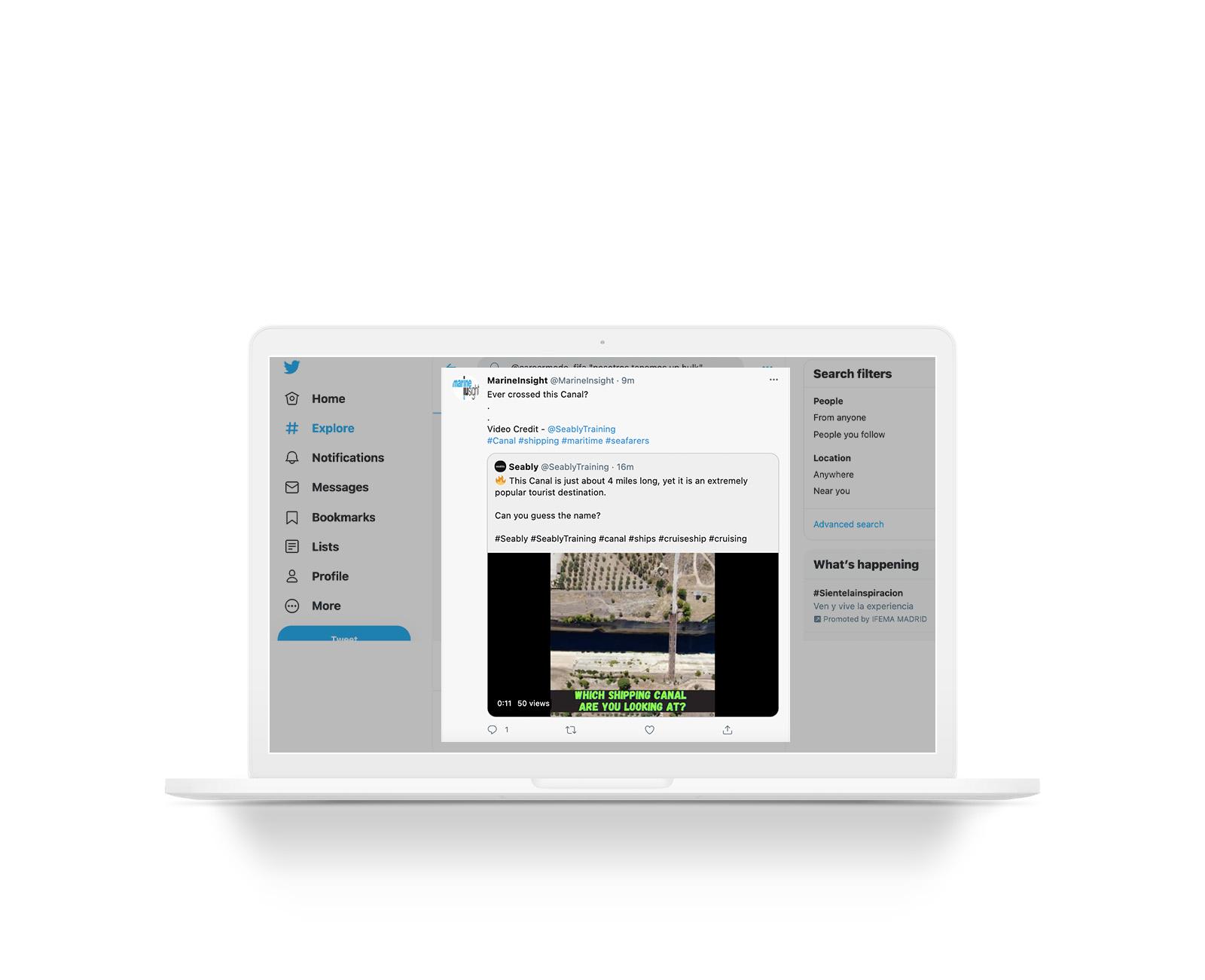 comment partager une vidéo sur Twitter
