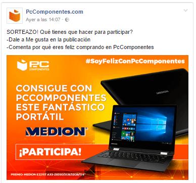 concurso en facebook gratis