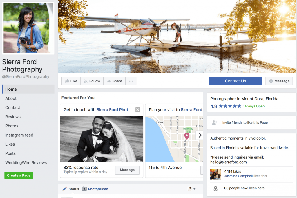 make your profile is up to snuff on Facebook