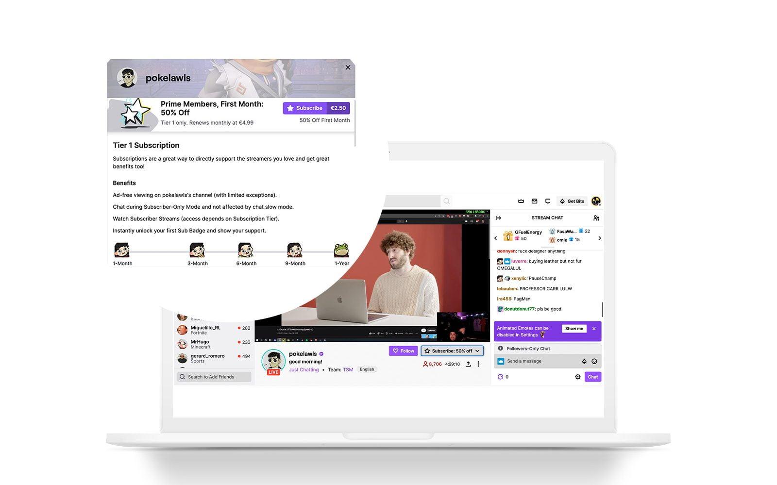guía de twitch