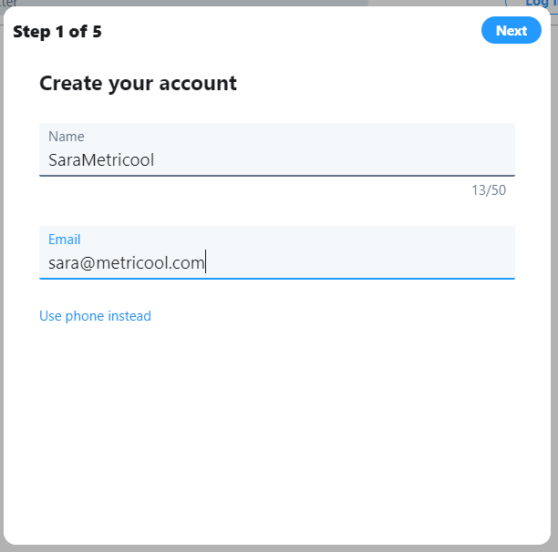 Create Twitter Account How To Do It Step By Step