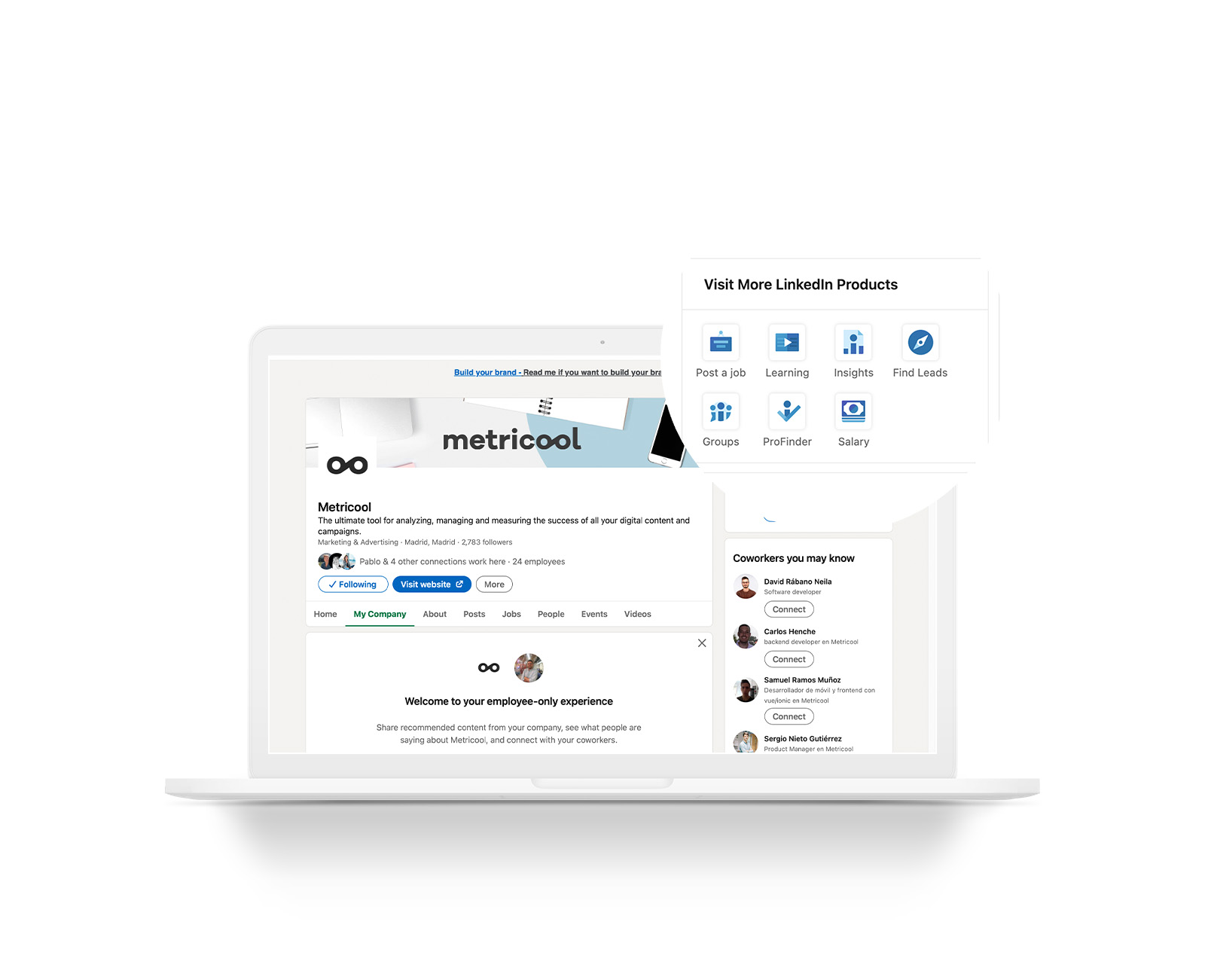 cómo publicar una oferta de empleo en LinkedIn