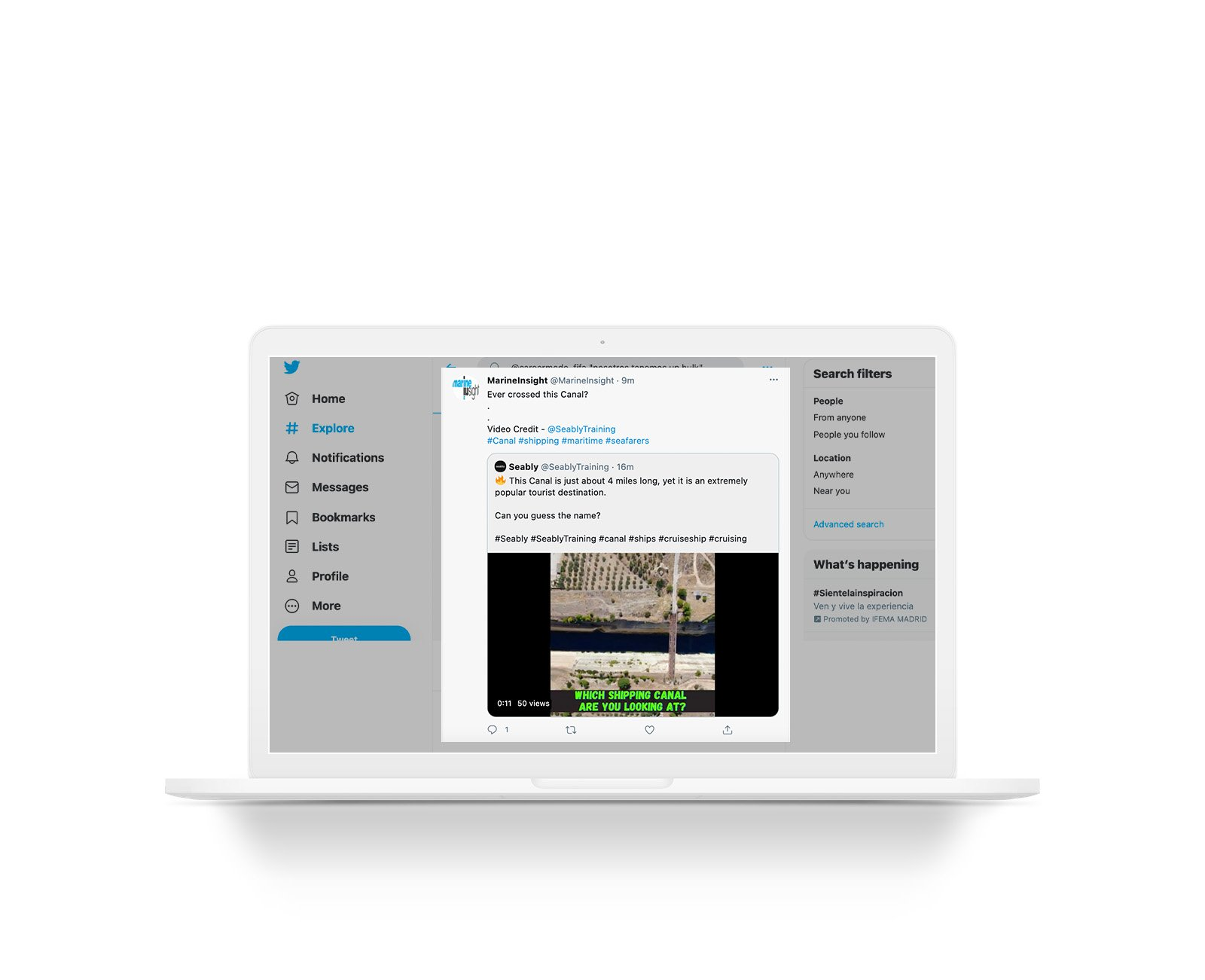 how to share a video on Twitter