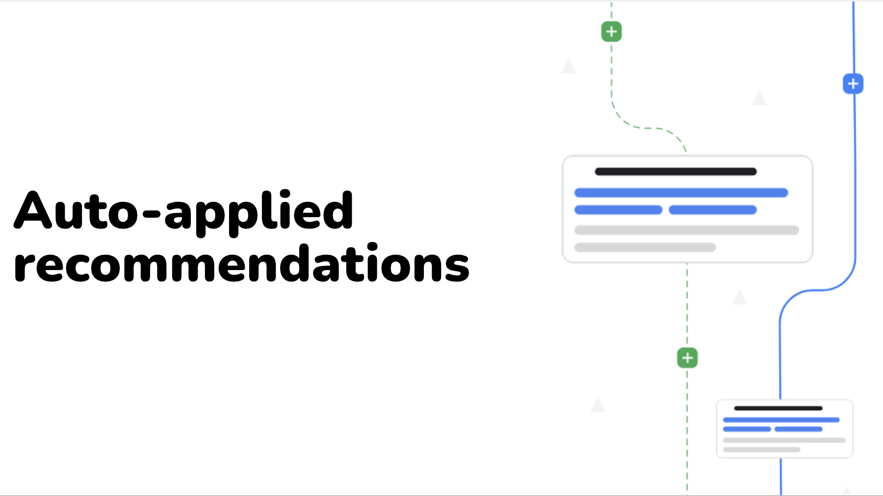 Google Auto applied recommendations