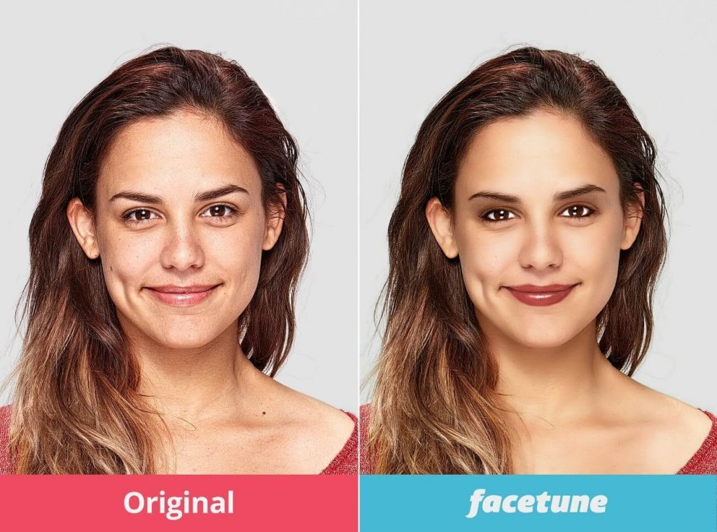 Facetune: 5,99€, iOS & Android