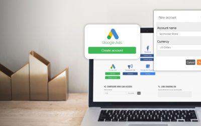 Crea tus cuentas de Google Ads desde Metricool