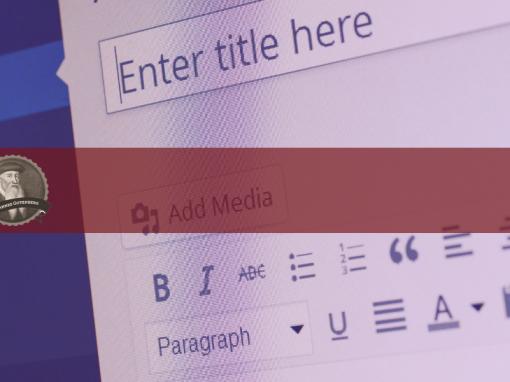 Editor Gutenberg para WordPress