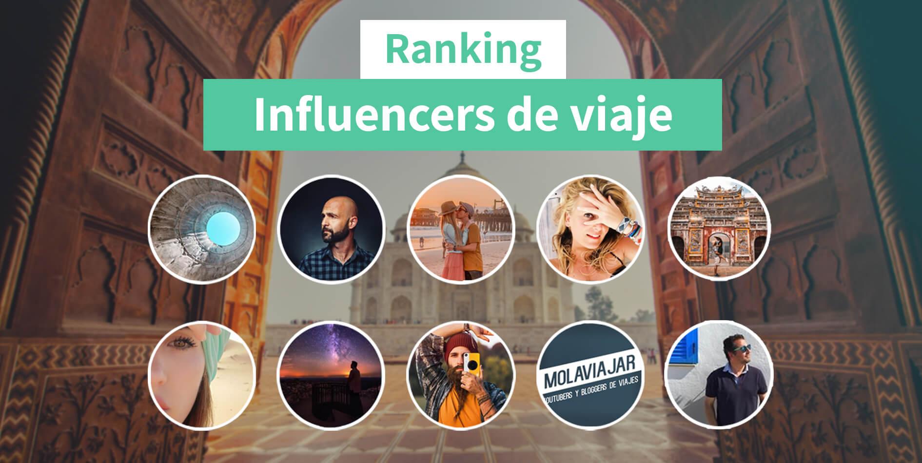 Ranking de Influencers de Viajes en España