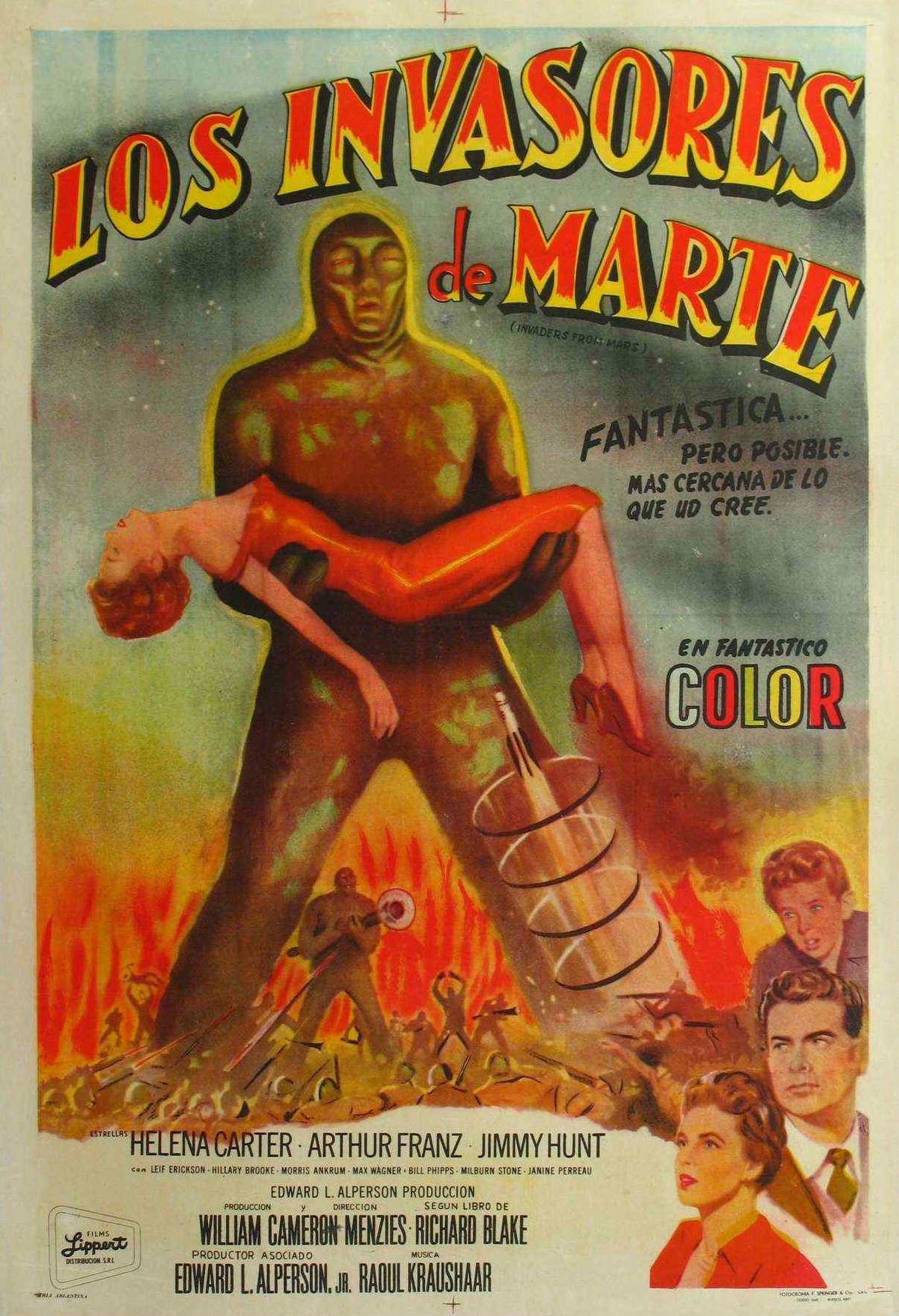 Invasores De Marte (Invaders From Mars) (1953)
