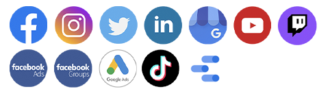 The ultimate tool to analyze, manage and measure your social media activity