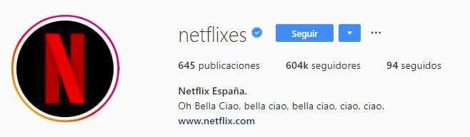 nombres para instagram netflix