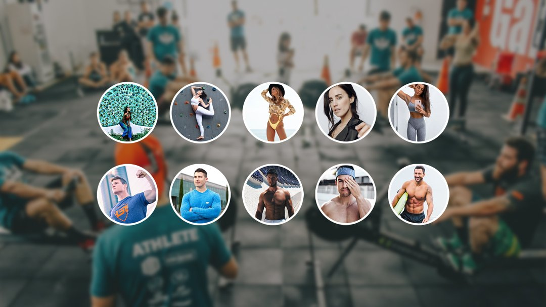 Ranking de influencers de fitness en España