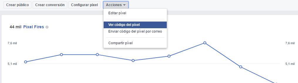 pixel de facebook ver
